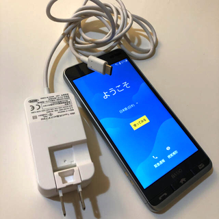 京セラ - AU KYOCERA スマホ本体 KYV43 Androidアンドロイド ブルー