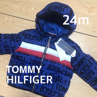 TOMMY HILFIGER - 新品タグ付き!TOMMYHILFIGER キッズ★ダウンジャケット 24m