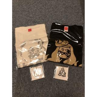 ニンテンドースイッチ(Nintendo Switch)のSplatoon スプラトゥーン2 フェスT ヒメ&イイダ + キーホルダー2個(Tシャツ/カットソー(半袖/袖なし))
