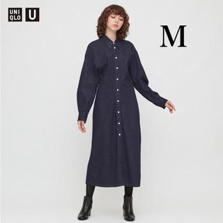 UNIQLO - ユニクロ ユニクロユー ユニクロu   デニムロングシャツワンピース Mサイズ