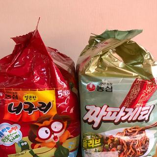 韓国ラーメン❣️チャパグリセット❣️大人気♡映画パラサイト(インスタント食品)