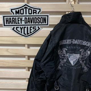ハーレーダビッドソン(Harley Davidson)のHARLEY DAVIDSON ハーレーダビッドソン★ナイロンジャケット (ライダースジャケット)
