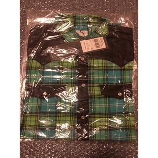 Levi's - 新品Levi's Fenom FMS20-0004 グリーンチェックネルシャツ