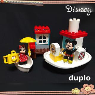 Lego - デュプロ ディズニー ミッキーマウス ミニーマウス バースデー ボート