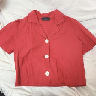 スタイルナンダ(STYLENANDA)の韓国で購入 トップス ショート丈(シャツ/ブラウス(半袖/袖なし))