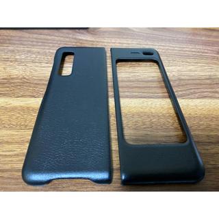 ギャラクシー(Galaxy)のGalaxy Fold Leather Cover ブラック【国内正規品】(Androidケース)