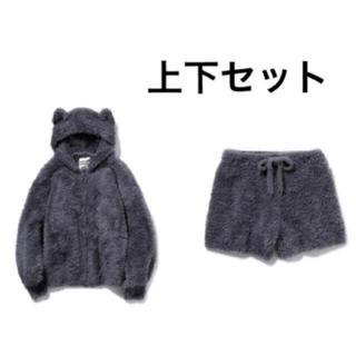 gelato pique - ジェラートピケ♡【Halloween限定】ネコモコパーカ& ショートパンツ