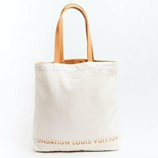 LOUIS VUITTON - パリ ルイヴィトン美術館限定のトートバッグ 新品ですが小さなしみ