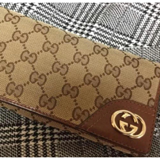 Gucci - [正規品]GUCCI ダブルG L字 ファスナー付 長財布 レディース メンズ