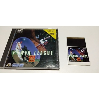 エヌイーシー(NEC)のPCエンジン パワーリーグ3 パワーリーグ ブルファイト(家庭用ゲームソフト)