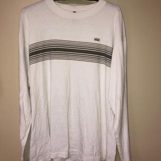 ヴァンズ(VANS)のメンズ vans Tシャツ 白(Tシャツ/カットソー(七分/長袖))