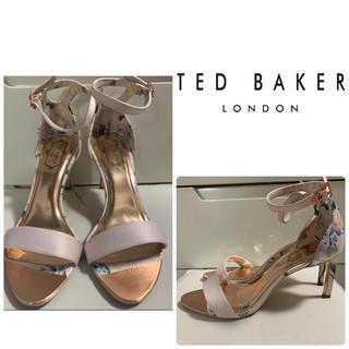 TED BAKER - 美品 テッドベイカー ピンクフラワー サンダル