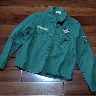 レピピアルマリオ(repipi armario)のレピピアルマリオ ミリタリーシャツ(Tシャツ/カットソー)