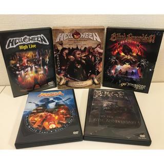 ハロウィン/RAGE/Blind Guardian/ANGRA   DVDセット