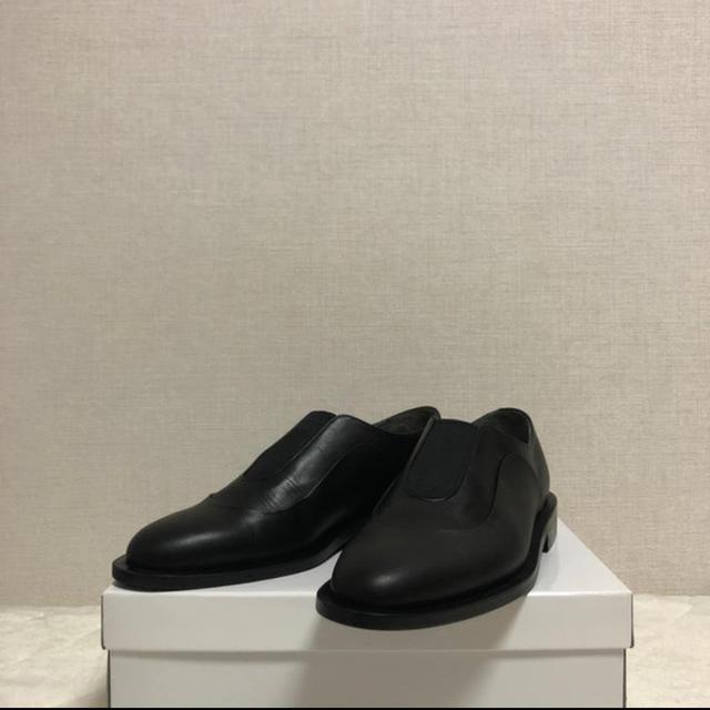 """SUNSEA(サンシー)の【最安】ISHMM 19aw Center Gore Shoes """"Black"""" メンズの靴/シューズ(スリッポン/モカシン)の商品写真"""