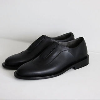 "SUNSEA - 【最安】ISHMM 19aw Center Gore Shoes ""Black"""