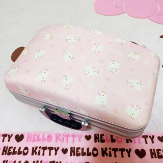 ハローキティ(ハローキティ)の入手困難❤️サンリオ キティ 総柄 トラベル キャリーケース (スーツケース/キャリーバッグ)