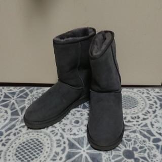 アグ(UGG)のUGG  ムートンブーツ  グレー  28cm(ブーツ)