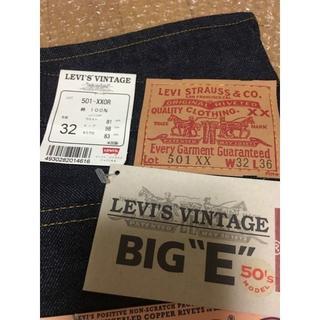 Levi's - デッド 米国製 LEVI'S LVC 1950年モデル 501-XXOR W32