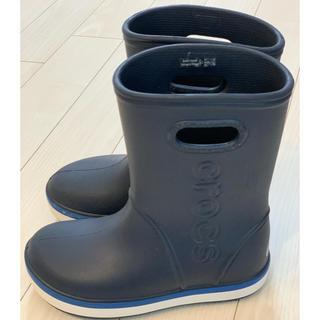 crocs - クロックス 長靴 レインブーツ(19.5)