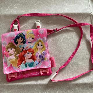 ディズニー(Disney)の未使用 移動ポケット おでかけポケット クリップ付き ショルダー付 プリンセス(ポシェット)