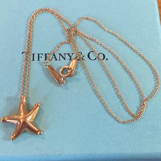Tiffany & Co. - ティファニー 750(k18)スターフィッシュネックレス