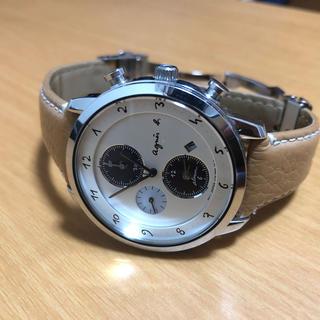 agnes b. - アニエスベー ソーラー 腕時計