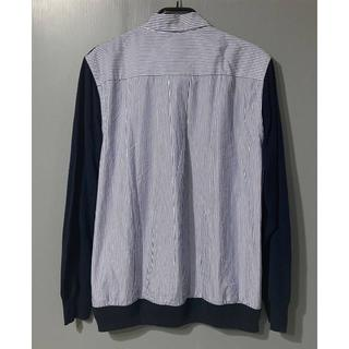 サカイ(sacai)のR210-48) SACAI レギュラー ストライプシャツ ニット(ニット/セーター)