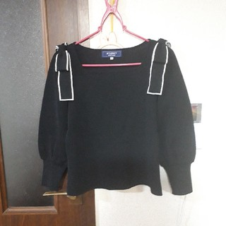 エムズグレイシー(M'S GRACY)の2020年 エムズグレイシー 肩リボンニット(ニット/セーター)