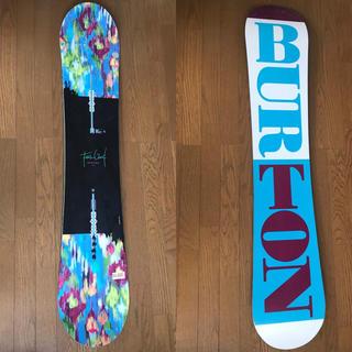 バートン(BURTON)のBurton バートン スノーボード板 レディース 2点セット(ボード)