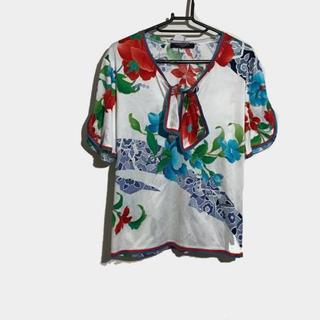 LEONARD - レオナール 半袖カットソー サイズL - 花柄