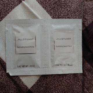 ジルスチュアート(JILLSTUART)のジルスチュアート 美容液化粧下地 01   クリスタルダイアモンド サンプル(サンプル/トライアルキット)