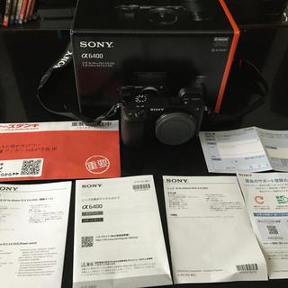 SONY - ソニー SONY α6400 ボディ 保証期間内