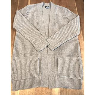 theory - theory ・wool100%  ライトグレーカーディガン