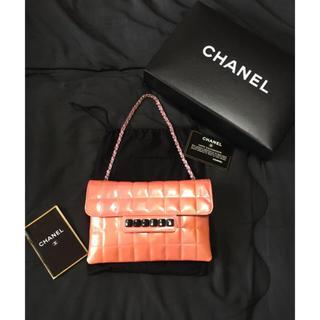 CHANEL - CHANEL  内側綺麗✨ピアノバッグ エナメル チェーンショルダーバッグ