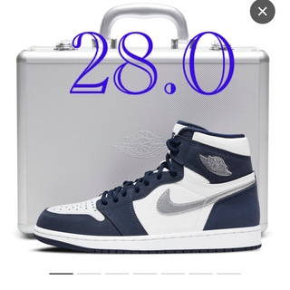 NIKE - エアジョーダン1 HIGH OG CO.JP Midnight Navy