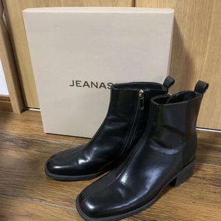 JEANASIS - JEANASIS スクエアトウブーツ M