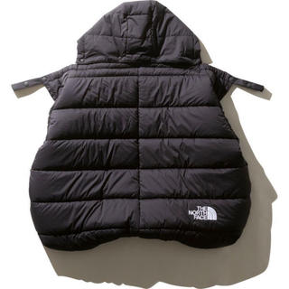 THE NORTH FACE - THE NORTH FACE BABY SHELL BLANKET 黒