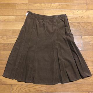 ローラアシュレイ(LAURA ASHLEY)のローラアシュレイ コーデュロイスカート(ひざ丈スカート)