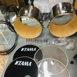 TAMA バスドラム 22インチ×2(バスドラム)