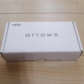 フジツウ(富士通)のarrows  rx 32GB ブラック 未使用 残債なし(スマートフォン本体)