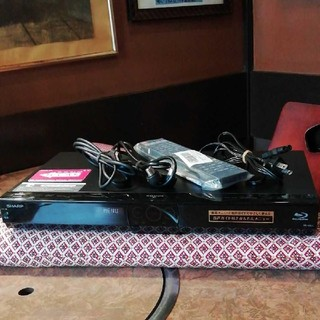 SHARP - SHARP BDW515 12倍録 2番組W録 500GB 外付HDD新リモ等付