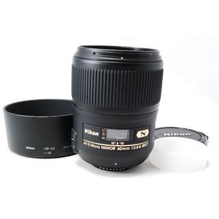 Nikon - Nikon AF-S Micro NIKKOR 60mm F2.8 G