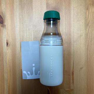 スターバックスコーヒー(Starbucks Coffee)のスターバックス サニーボトル 白×緑(タンブラー)