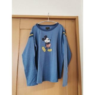 マーキーズ(MARKEY'S)のDISNEYコレクション ラインリブロンT☆BIG FIELD☆MARKEY'S(Tシャツ(長袖/七分))