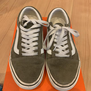 VANS - Vans Old Skool  カーキ