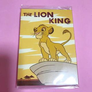 Disney - 【未開封/定価以下】ライオンキング♡パタパタメモ