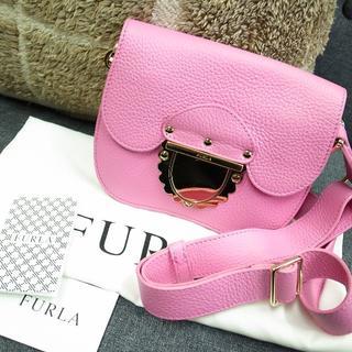 フルラ(Furla)の正規品☆フルラ ショルダーバッグ ピンク レザー バッグ 財布 小物(ショルダーバッグ)
