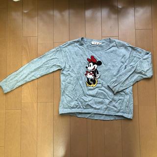 ユニクロ(UNIQLO)のUNIQLO KIDS Disney ミニーセーター 140(ニット)