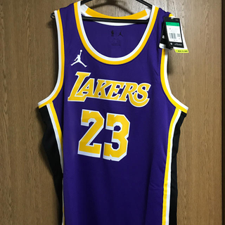ナイキ(NIKE)のLAKERS ユニフォーム 新品未使用 レイカーズ  XLサイズ(バスケットボール)